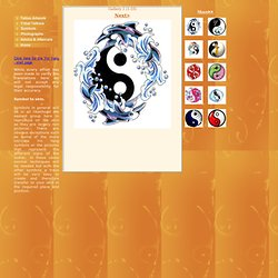Free Yin Yang tattoo designs in several galleries. P1 of 50