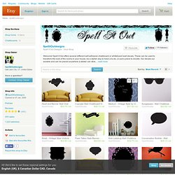 Spell It Out Designs Vinyl Shop by SpellitOutdesigns on Etsy