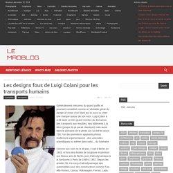 Les designs fous de Luigi Colani pour les transports humains