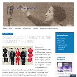 DESIGUALDAD CRECIENTE ENTRE HOMBRES Y MUJERES – Logia Clara Campoamor