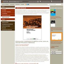 Desigualdad y diversidad en América Latina: hacia un análisis tipológico comparado