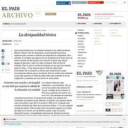 La desigualdad tóxica · ELPAÍS.com
