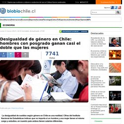 Desigualdad de género en Chile: hombres con posgrado ganan casi el doble que las mujeres
