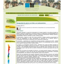 Desigualdad de género en Chile y en Latinoamérica
