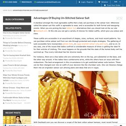 Desihault Advantages Of Buying Un-Stitched Salwar Suit