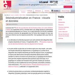 Désindustrialisation en France : visuels et données