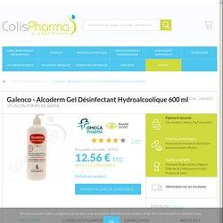 Alcoderm Gel Désinfectant Hydroalcoolique 600 ml