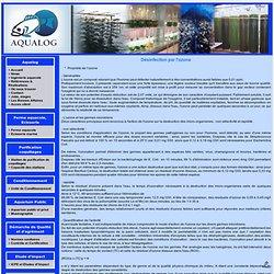 AQUALOG - Désinfection par l'ozone