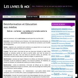 Désinformation et Education aux médias
