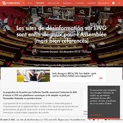 Les sites de désinformation sur l'IVG sont enfin illégaux pour l'Assemblée (mais bien référencés) - Politique