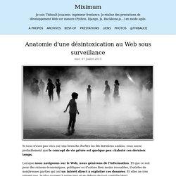 Anatomie d'une désintoxication au Web sous surveillance