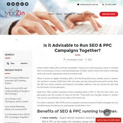 Is it desirable to Run SEO & PPC Campaigns Together?