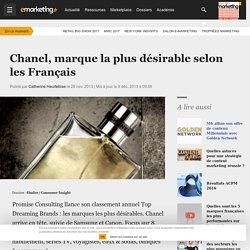 Chanel, marque la plus désirable selon les Français - Etudes / Consumer Insight