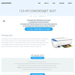 123.hp.com/deskjet3637 - HP Deskjet 3637 Install & Setup