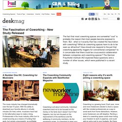 deskmag - A magazine about coworking and new workspaces