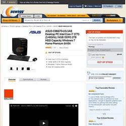 ASUS CM6870-US-3AB Desktop PC