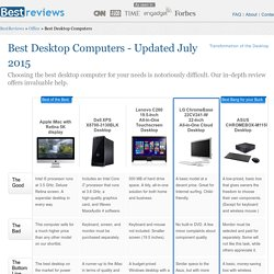 5 Best Desktop Computers - Aug. 2015 - BestReviews