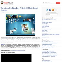 Turn Your Desktop Into a Real 3D Multi-Touch Desktop - Downloads