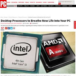 The Best Processors for Desktops
