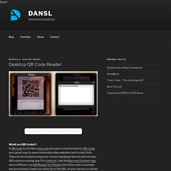 dansl Desktop Reader