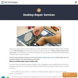 Computer Repair Services in Dubai