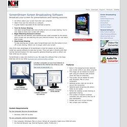 Desktop Screen Sharing Software - Broadcast Your Screen