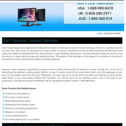 Dell Desktop Support Number, 888-989-8478, Dell Technical Support