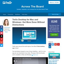 Desktop for Mac and Windows: Get More Done Without Distractions