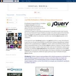 +54 Útiles Deslizadores o Sliders de Imagen jQuery Responsive
