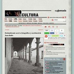 Deslumbrante acervo fotográfico y escritural de Juan Rulfo