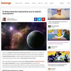 10 deslumbrantes exoplanetas que te dejarán boquiabierto