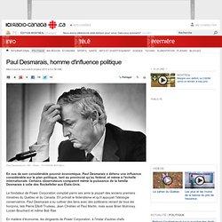 Paul Desmarais, homme d'influence politique