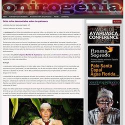 Ocho mitos desmontados sobre la ayahuasca