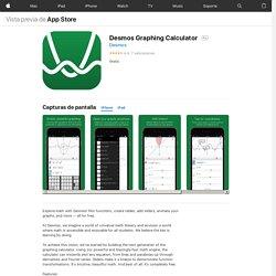 Desmos Graphing Calculator en AppStore