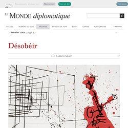 Désobéir, par Thierry Paquot