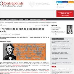 Thoreau et le devoir de Désobéissance Civile