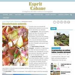 Désodorisants naturels, Esprit Cabane, idees creatives et ecologiques