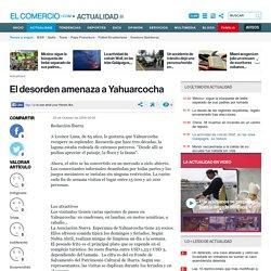 El desorden amenaza a Yahuarcocha