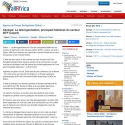 Sénégal: La désorganisation, principale faiblesse du secteur BTP (expert) - a...