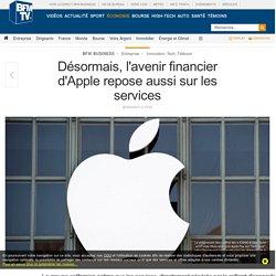 Désormais, l'avenir financier d'Apple repose aussi sur les services