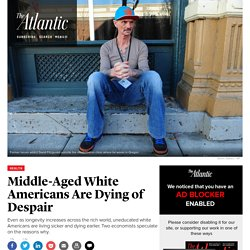 The Despair Death of the Middle-Aged American