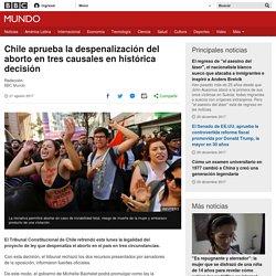 Chile aprueba la despenalización del aborto en tres causales en histórica decisión