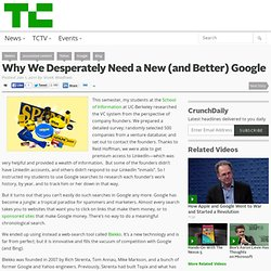 Why We Desperately Need a New (and Better) Google