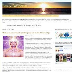 Meditación para activar la glándula pineal y el chakra del Tercer Ojo