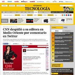 CNN despide a periodista por comentario en Twitter