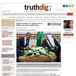 Despite Atrocities, U.S. Approves $1.29 Billion Arms Sale to Saudi Arabia