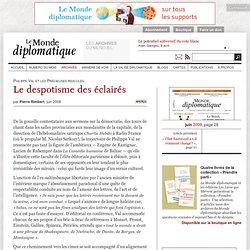 Le despotisme des éclairés, par Pierre Rimbert (Le Monde diploma