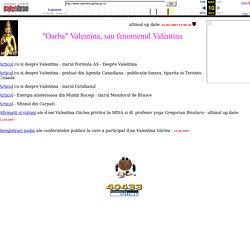 """Despre """"oarba"""" de la Iasi - Valentina Gârlea - """"fenomenul Valentina"""""""