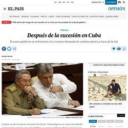 Después de la sucesión en Cuba