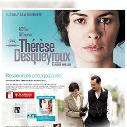 Thérèse Desqueyroux - ressources pédagogiques du film pour les enseignants